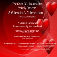 Valentine celebration in aid of Gozo CCU Foundation