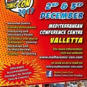 Malta Comic Con 2017