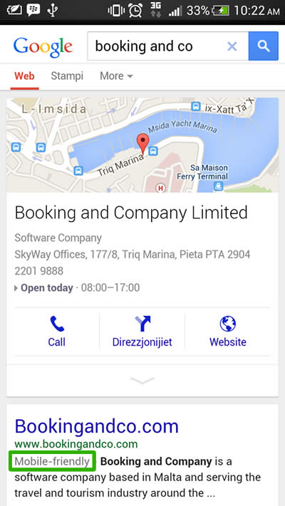 Booking & Co Mobile Screenshot