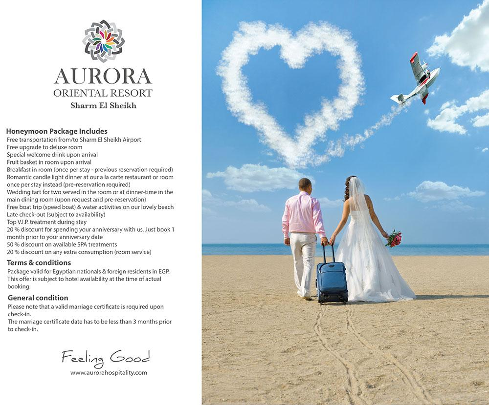 Aurora Oriental Resort Honeymoon Package