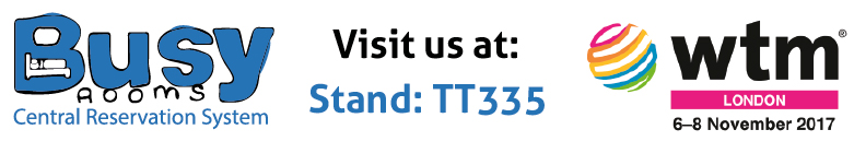 Visit the Busy Rooms stand at ITB Berlin