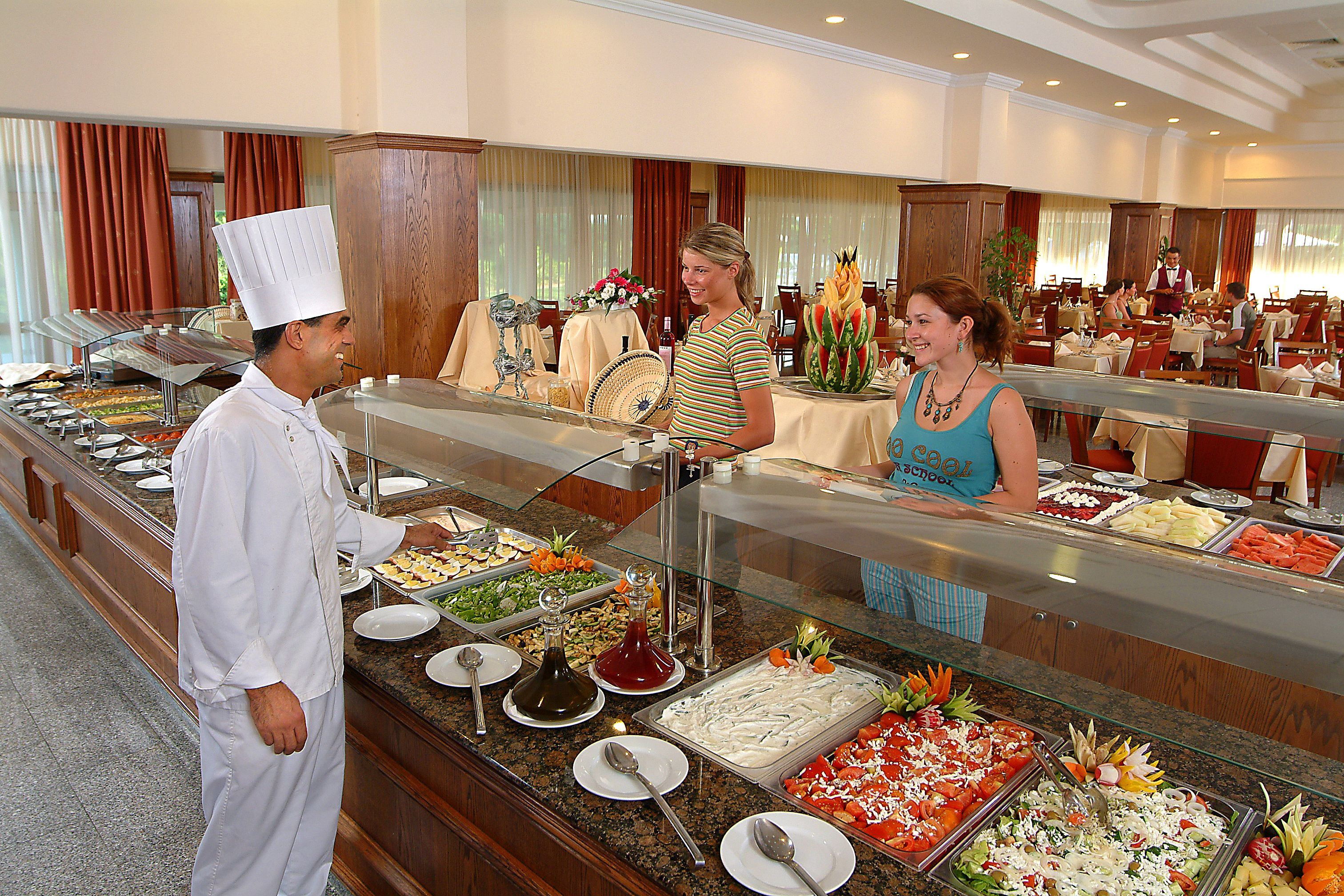 food service hotel restaurant institutional For a hotel always concerned about the quality of their service to their customers however, customers are not satisfied about the quality of those serving.