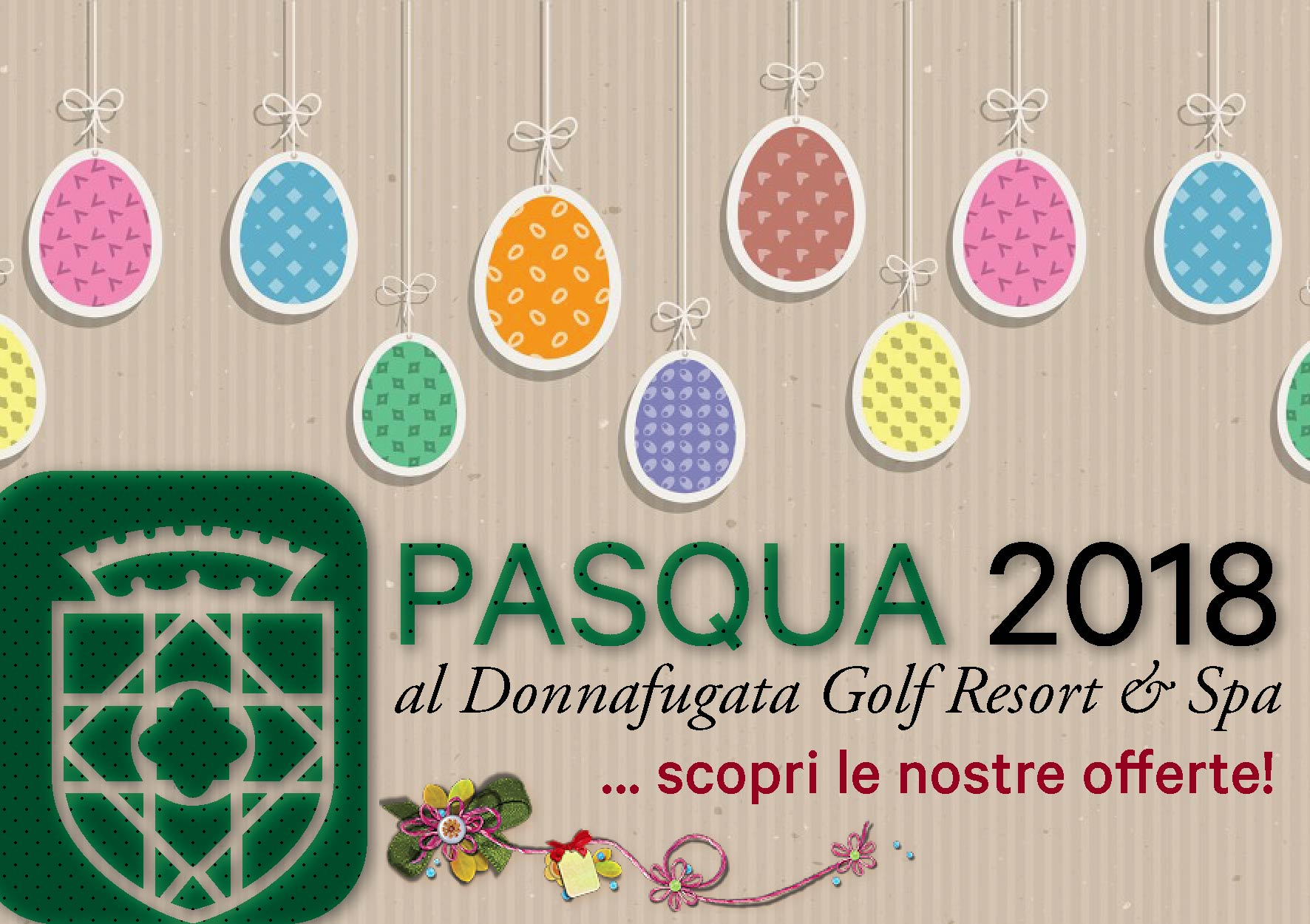 Pasqua 2018 al Donnafugata Golf Resort & Spa
