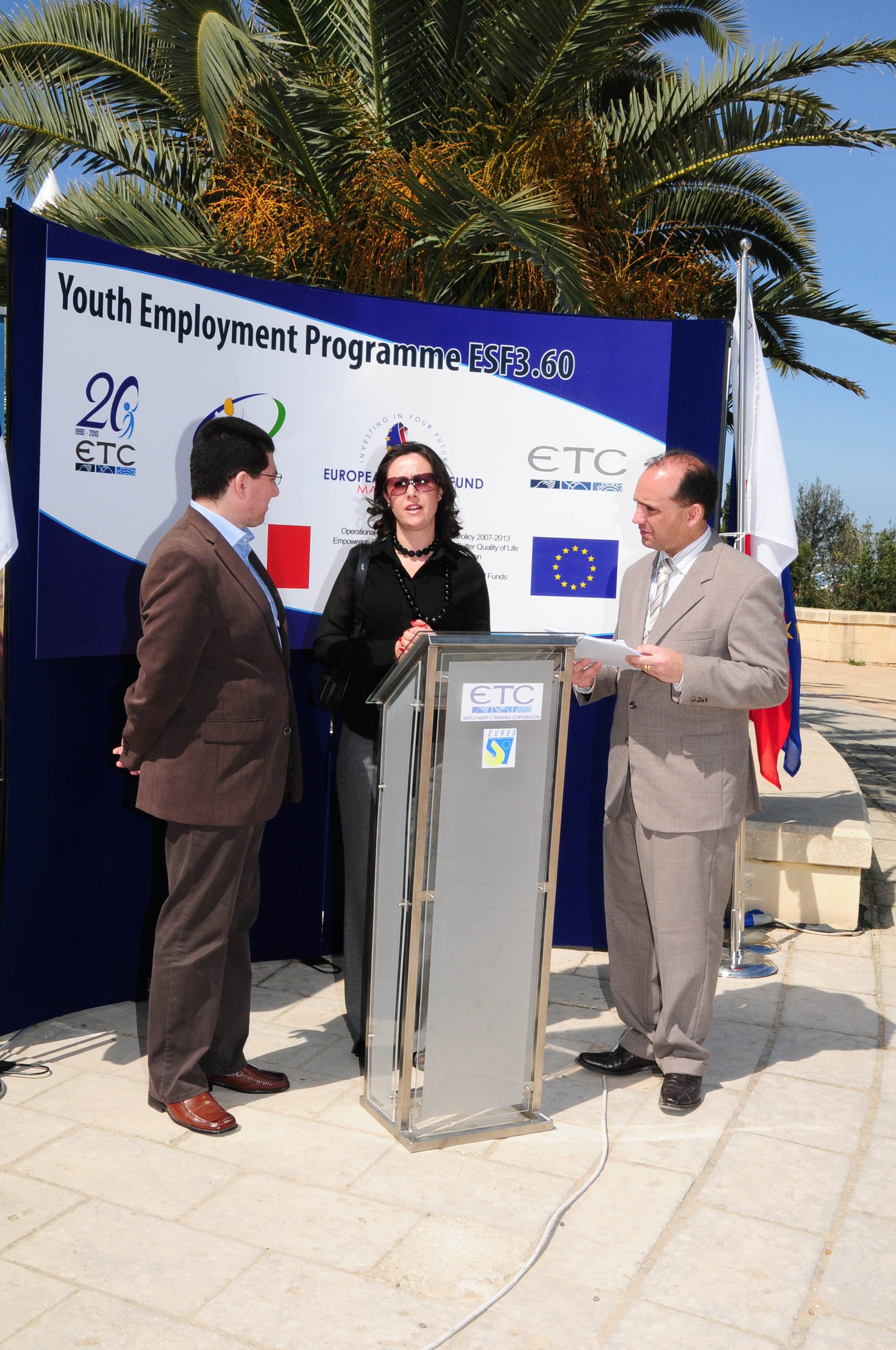 The ETC launches the ESF 3.60 YOUTH EMPLOYMENT PROGRAMME