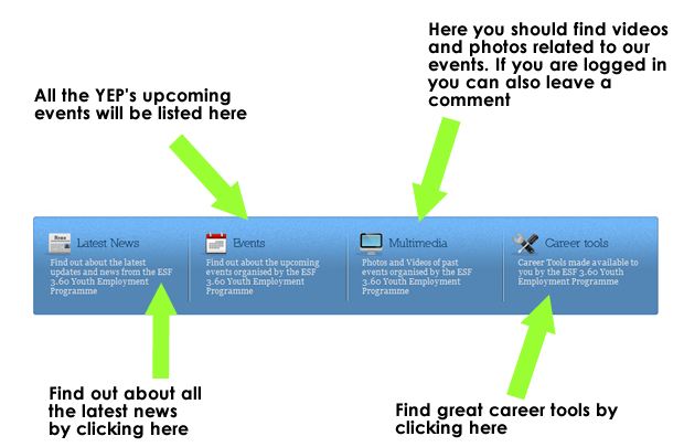 multimedia events career tools tab