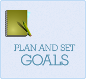 make a plan and set goals