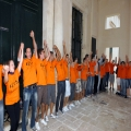 Part of Human Chain - Youth Days Launch