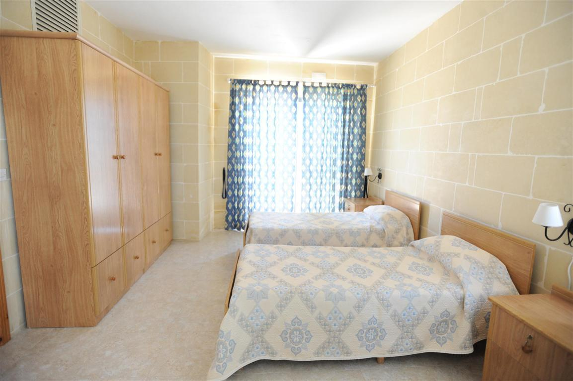 IELS Gozo accommodation - Migiarro Residence - students bedroom