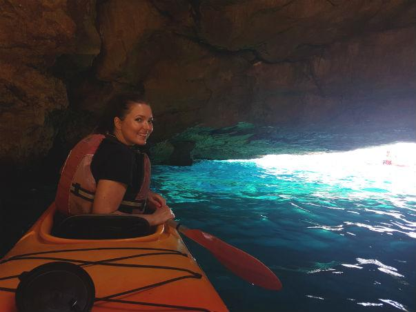 kayaking gozo