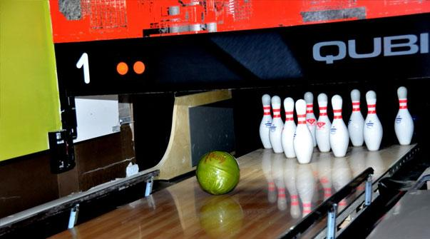 Bowling at Lucky Jacks