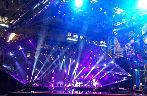 Junior Eurovision Song Contest Stage in Malta