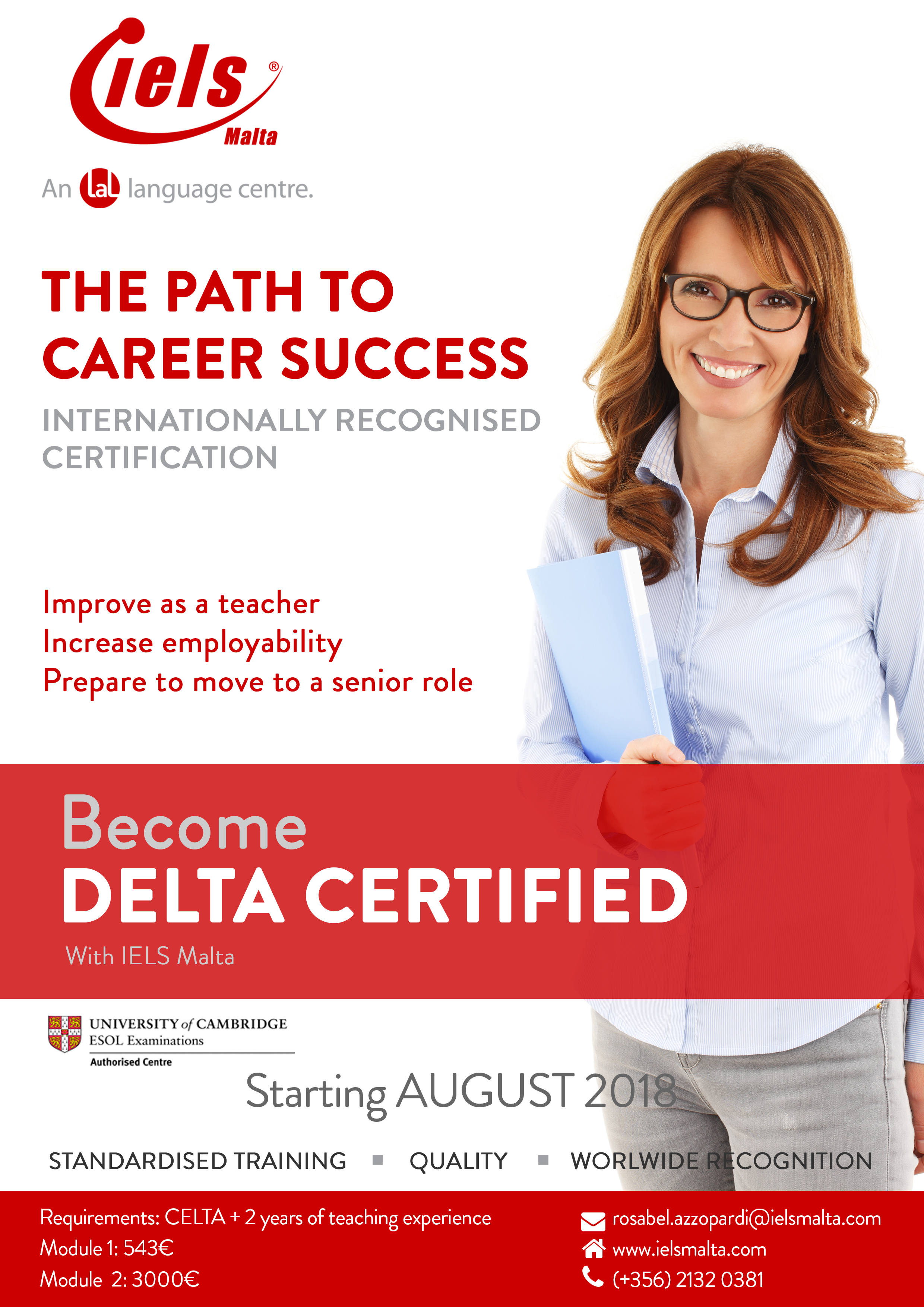 Delta course with IELS Malta