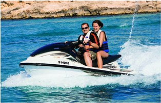 Jet skiing in Malta and Gozo