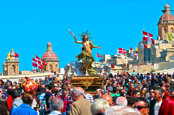 Easter Procession in Malta