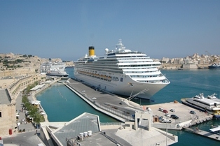 Visit Malta by cruiseship