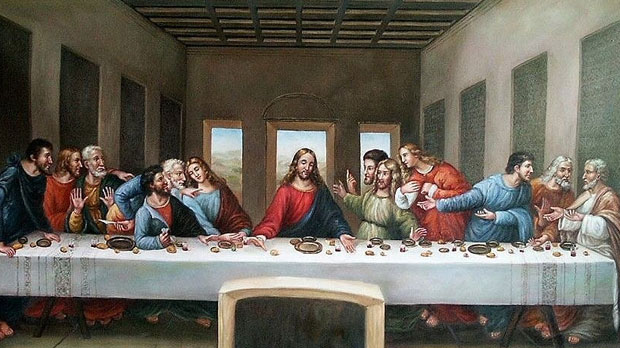The Last Supper in Gozo