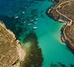 Blue Lagoon Aerial View
