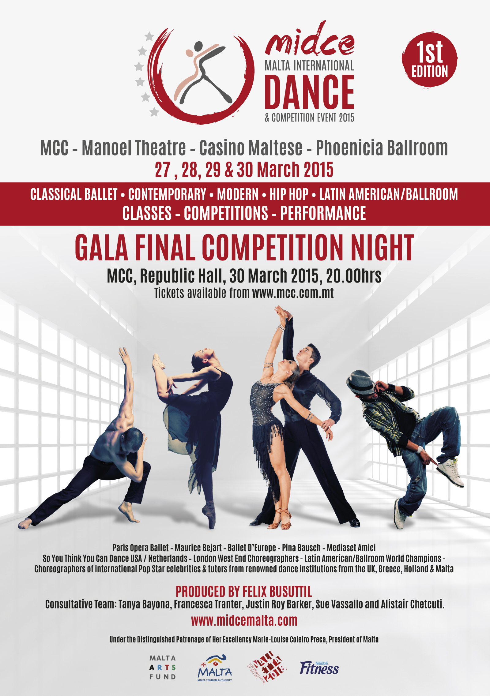 MALTA INTERNATIONAL DANCE COMPETITION EVENT