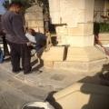 Restawr fuq il-pedestall ta' San Franġisk