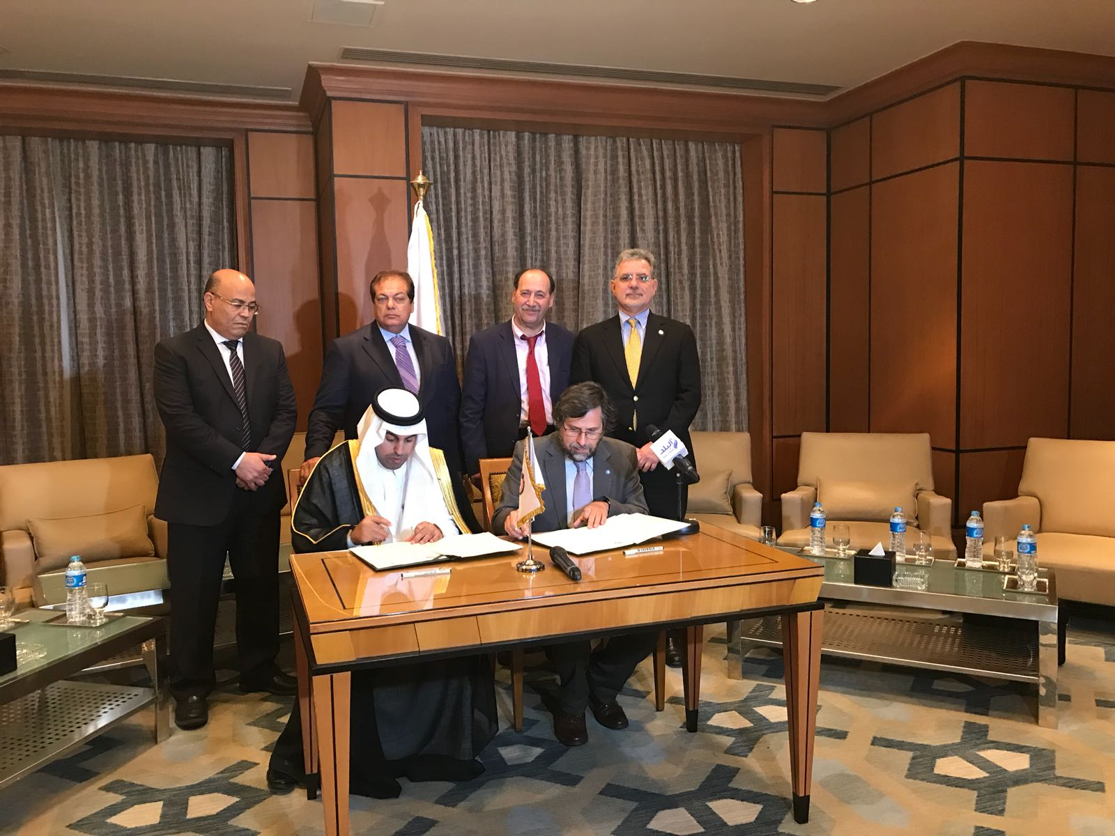 PAM and Arab Parliament Presidents sign MoU in Cairo
