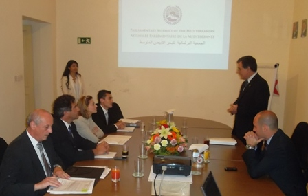 Malta MPs delegation at PAM Secretariat