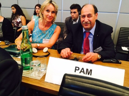 PAM MPs at OSCE Human Trafficking Conference in Vienna