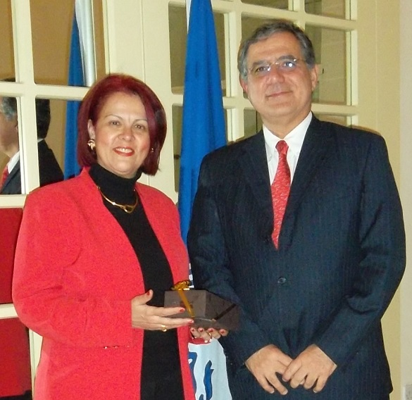 PAM cooperation with Greece highlighted during meeting with Ambassador Karykopoulou