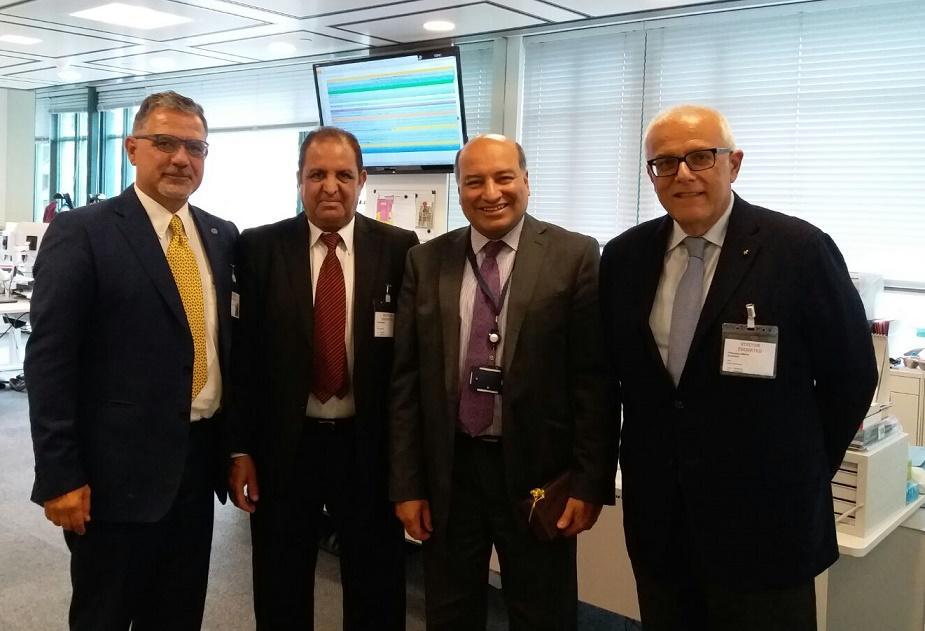 Une réunion bilatérale à Londres entre la BERD et l'APM.