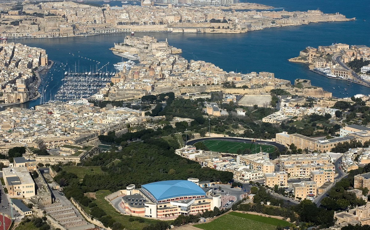 Cottonera Sports Complex, Malta