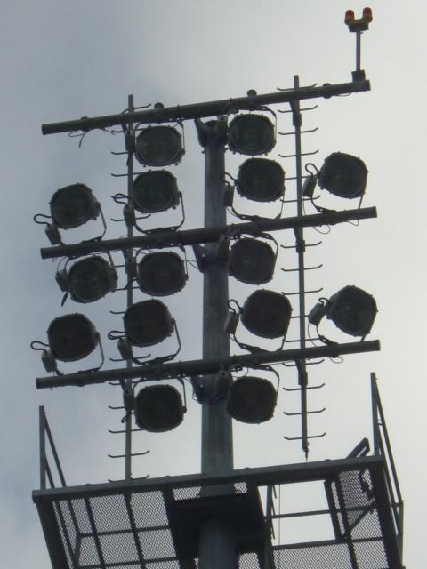 Hibernians' Football Club (Malta) Lighting