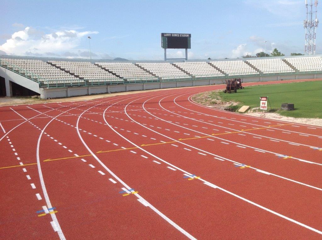 Larry Gomes Stadium in Arima, Trinidad & Tobago