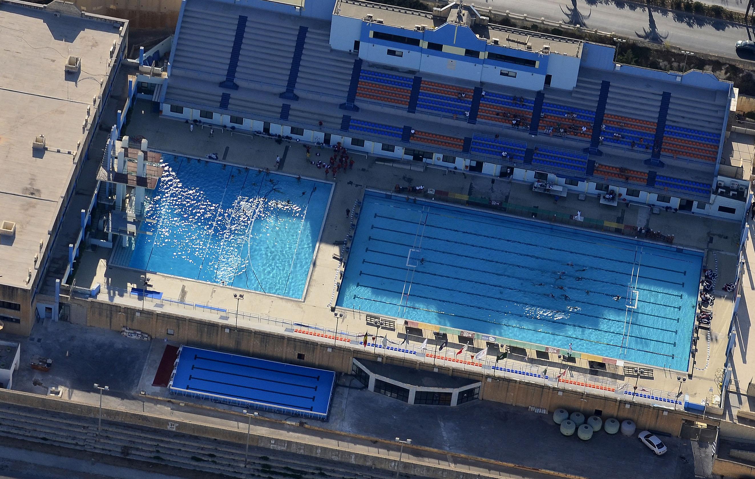 Kunsill malti ghall isport malta sports council swimming for Pool design malta