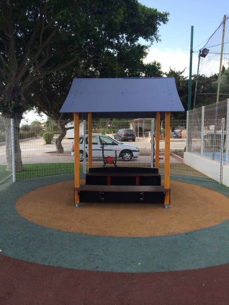 Supply and installation of playground equipment