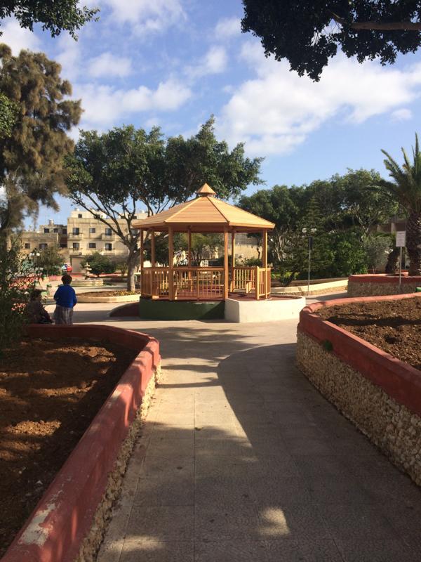 Work done at Raymond Caruana Garden in Gudja