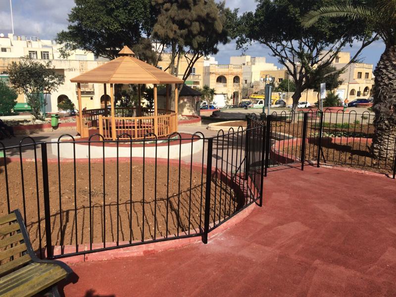 Works done at Raymond Caruana Garden in Gudja