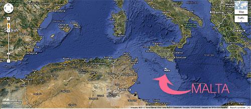 Malta's Map