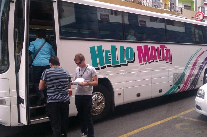 Hello Malta Tours - Logo