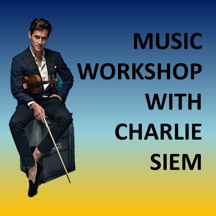 Toi Toi Ltd Edition: Family Workshop Concert with Charlie Siem