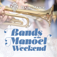 Bands at the Manoel Weekend