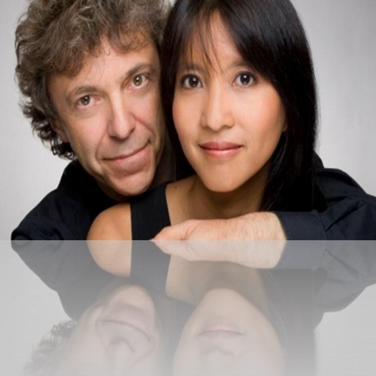 Pascal & Ami Rogé: 4 hands 2 pianos
