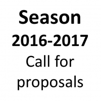 Call for Proposals for Season 2016 - 2017