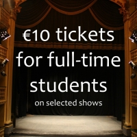 €10 tickets for full-time students