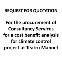 RfQ: Consultancy Services for Cost Benefit Analysis