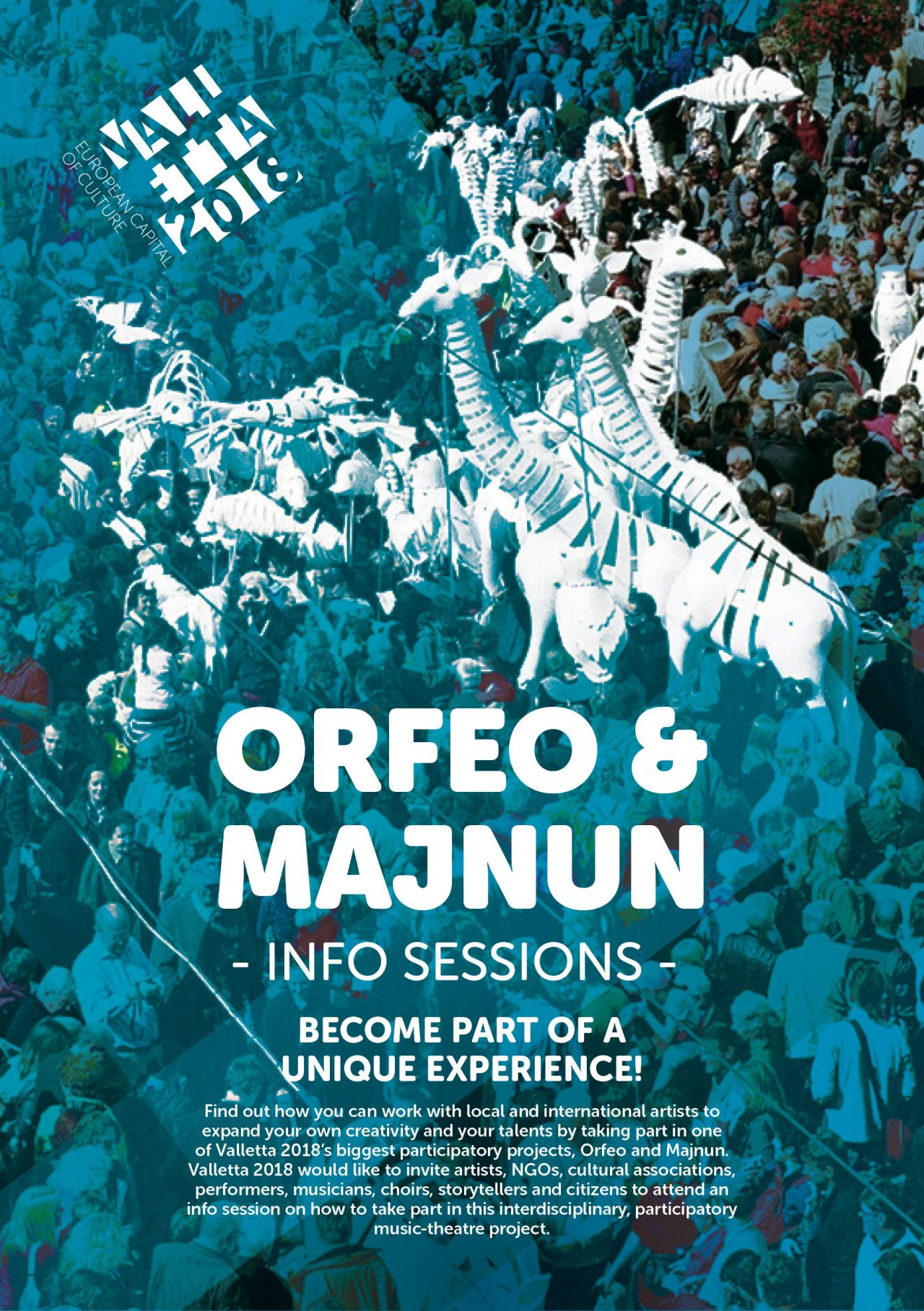Orfeo and Majnun - an interdisciplinary, participatory music-theatre project