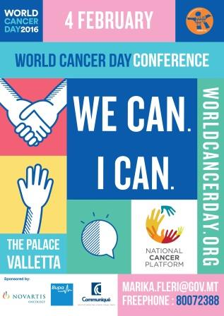 World Cancer Day Conference 2016 - We Can I Can