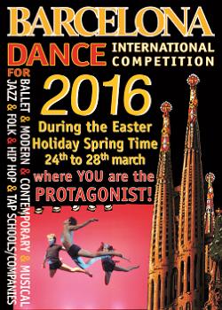 Barcelona Dance Award in Easter Time 2016