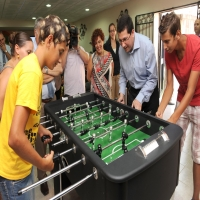 Opening of the first Youth Café in Malta